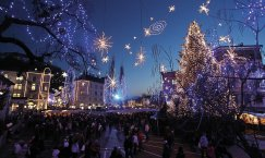 Advent in Zagreb und Ljubljana